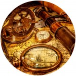Grafika-Wood-00005 Wooden Jigsaw Puzzle - Vintage Travel