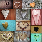 Grafika-Wood-00009 Wooden Jigsaw Puzzle - Collage - Love