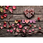 Grafika-Wood-00017 Wooden Jigsaw Puzzle - Love