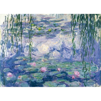 Puzzle-Michele-Wilson-A104-250 Jigsaw Puzzle - 250 Pieces - Art - Wooden - Monet : Nympheas