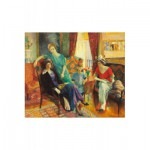 Puzzle-Michele-Wilson-A184-500 Wooden Jigsaw Puzzle - William Glackens