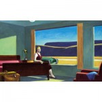 Puzzle-Michele-Wilson-A185-500 Wooden Puzzle - Edward Hopper: Western Motel