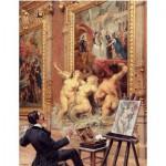 Puzzle-Michele-Wilson-A187-500 Wooden Puzzle - Louis Béroud: The Joys Of The Flooding