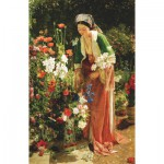 Puzzle-Michele-Wilson-A204-350 Jigsaw Puzzle - 350 Pieces - Art - Wooden - Lewis : In the Bey's Garden