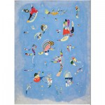 Puzzle-Michele-Wilson-A220-80 Wooden Puzzle - Kandinsky Vassily: Blue Sky