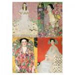 Puzzle-Michele-Wilson-A225-500 Wooden Jigsaw Puzzle - Klimt