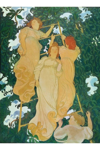 Puzzle Puzzle-Michele-Wilson-A235-250 Maurice Denis: Ladder in the leaves
