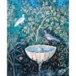 Puzzle-Michele-Wilson-A256-150 Jigsaw Puzzle - 150 Pieces - Art - Wooden - Bird in the Garden, Pompeii
