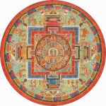 Puzzle-Michele-Wilson-A272-350 Jigsaw Puzzle - 350 Pieces - Art - Wooden - Michele Wilson - Round Puzzle : Sitâtapatrâ Mandala