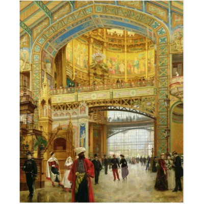 Puzzle Puzzle-Michele-Wilson-A275-650 Louis Béroud: The central dome