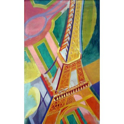 Puzzle-Michele-Wilson-A276-150 Jigsaw Puzzle - 150 Pieces - Art - Wooden - Michele Wilson - Delaunay : Eiffel Tower