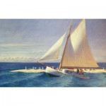 Puzzle-Michele-Wilson-A278-350 Jigsaw Puzzle - 350 Pieces - Art - Wooden - Michele Wilson - Hopper : The Sailboat