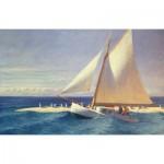Puzzle-Michele-Wilson-A278-350 Jigsaw Puzzle - 350 Pieces - Art - Wooden - Michele Wilson - Hopper : The Sailboat