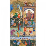 Puzzle-Michele-Wilson-A288-500 Jigsaw Puzzle - 500 Pieces - Art - Wooden - Michele Wilson - Persian Art : The School