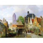 Puzzle  Puzzle-Michele-Wilson-A296-650 Koekkoek: View of Oudewater