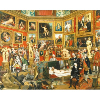 Puzzle Puzzle-Michele-Wilson-A298-500 Zoffany: The Tribuna of the Uffizi