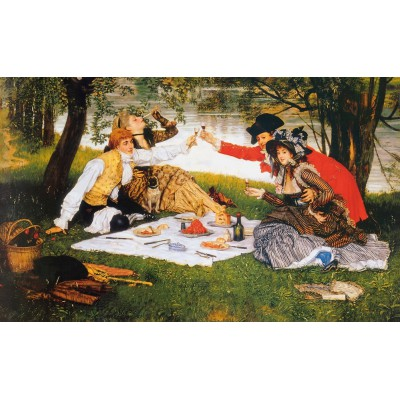 Puzzle Puzzle-Michele-Wilson-A306-1200 James Tissot: The Picnic