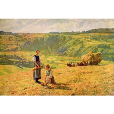 Puzzle Puzzle-Michele-Wilson-A333-650 Eugène Burnand: The gleaners