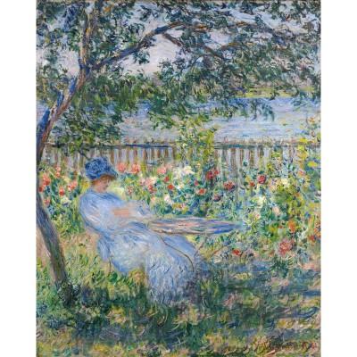 Puzzle Puzzle-Michele-Wilson-A337-750 Claude Monet: Terrace at Vetheuil