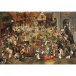 Puzzle  Puzzle-Michele-Wilson-A338-750 Pieter Brueghel the ancient: theCarnival Battle