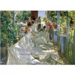 Puzzle  Puzzle-Michele-Wilson-A339-900 Sorolla: By sewing the sail