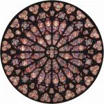 Puzzle-Michele-Wilson-A342-80 Jigsaw Puzzle - 80 Pieces - Art - Wooden - Notre Dame Rosace