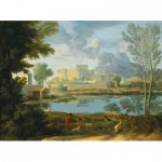 Puzzle  Puzzle-Michele-Wilson-A368-1000 Poussin Nicolas: calm weather Landscape
