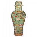 Puzzle-Michele-Wilson-A390-350 Wooden Puzzle - Chinese Art - Cedalon Vase