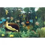 Puzzle-Michele-Wilson-A455-250 Wooden Jigsaw Puzzle - Douanier Rousseau