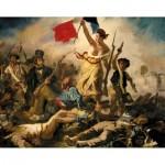 Puzzle-Michele-Wilson-A460-350 Wooden Jigsaw Puzzle - Eugène Delacroix : La Liberté Guidant le Peuple
