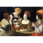 Puzzle-Michele-Wilson-A467-150 Wooden Jigsaw Puzzle - Georges de La Tour - Le Tricheur à l'as de carreau