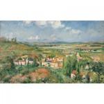 Puzzle-Michele-Wilson-A470-1200 Wooden Puzzle - Camille Pissarro - L'Hermitage en été