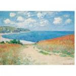 Puzzle  Puzzle-Michele-Wilson-A490-500 Claude Monet - Chemin dans les Blés, 1882