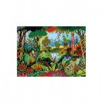 Puzzle-Michele-Wilson-A491-650 Wooden Jigsaw Puzzle - Alain Thomas: Jungle