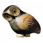 Puzzle-Michele-Wilson-A501-80 Jigsaw Puzzle - 80 Pieces - Art - Wooden - Owl Vase