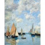 Puzzle-Michele-Wilson-A506-1000 Jigsaw Puzzle - 1000 Pieces - Art - Wooden - Boudin : The Jetty at High Tide