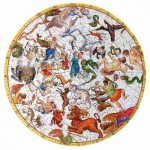 Puzzle-Michele-Wilson-A507-250 Hand-Cut Wooden Puzzle - Celestial Atlas