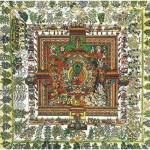 Puzzle-Michele-Wilson-A513-500 Jigsaw Puzzle - 500 Pieces - Art - Wooden - Tibetan Art : Medicine Mandala