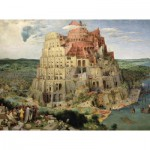 Puzzle-Michele-Wilson-A516-1000 Jigsaw Puzzle - 1000 Pieces - Art - Wooden - Brueghel : The Tower of Babel