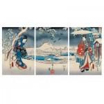 Puzzle-Michele-Wilson-A541-2500 Wooden Jigsaw Puzzle - Hiroshige Utagawa: Genji