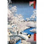 Puzzle-Michele-Wilson-A566-250 Jigsaw Puzzle - 250 Pieces - Art - Wooden - Hiroshige : Merugo Bridge