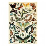 Puzzle-Michele-Wilson-A567-350 Hand-Cut Wooden Puzzle - The Butterflies