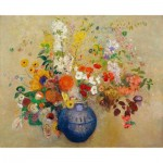 Puzzle-Michele-Wilson-A586-500 Hand-Cut Wooden Puzzle - Odilon Redon - Flowers