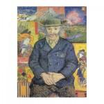 Puzzle  Puzzle-Michele-Wilson-A593-350 Van Gogh Vincent - Portrait of Père Tanguy, 1887