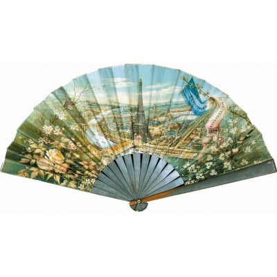 Puzzle-Michele-Wilson-A605-80 Jigsaw Puzzle - 80 Pieces - Art - Wooden - Fan : The World Fair