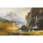 Puzzle-Michele-Wilson-A630-900 Wooden Jigsaw Puzzle - Bierstadt