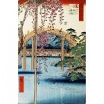 Puzzle-Michele-Wilson-A637-350 Wooden Puzzle - Hiroshige - Kameido Tenjin