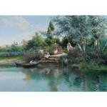 Puzzle  Puzzle-Michele-Wilson-A638-500 Rodriguez - Fishing Lesson