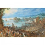 Puzzle  Puzzle-Michele-Wilson-A639-500 Brueghel - Great Fish-Market, 1603