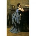 Puzzle  Puzzle-Michele-Wilson-A641-80 Corot - La Dame en Bleu, 1874